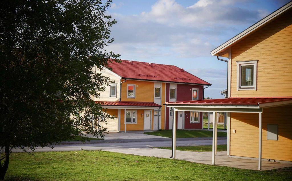 Hus i Trosa Torpa Äng